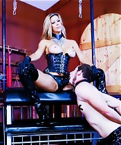 Alexis Fawx Humiliating her Two Slaves 2