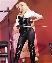 Venus Devine and Kylie Caning in Dungeon